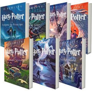 Kit - Harry Potter Coleção Completa (7 Livros) - R$95