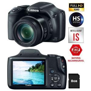 Câmera Digital Canon Powershot SX520HS Preta – 16.0MP por R$ 807
