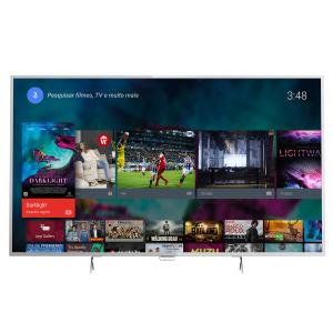 "Smart TV LED 55"" Philips 55PUG6801/78 UHD - 4K 4 HDMI 3 USB Prata por R$ 3299"