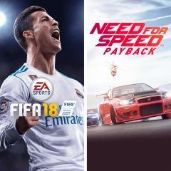 Fifa 18 + NFS: Payback (PS4 - Mídia digital) - R$221