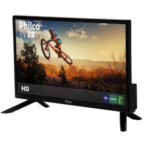 "TV LED 28"" Philco PH28N91D HD com Conversor Digital 1 USB 1 HDMI"