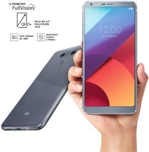 LG G6 + Vínculo ao Plano Controle TIM (R$ 40/mês) por R$ 1399