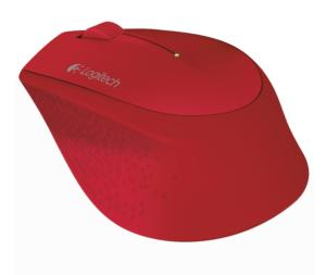 Mouse Sem Fio Logitech M280 Vermelho - R$39,00