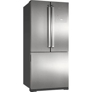 Geladeira/Refrigerador Brastemp Frost Free Side by Side BRO80AKANA Inverse 540L - Evox - R$4299