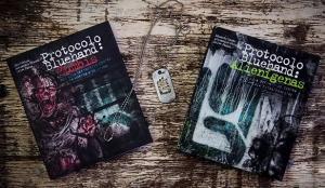 Kit livros Protocolo Bluehand Alienígenas e Protocolo Bluehand Zumbis - R $34,90 cada