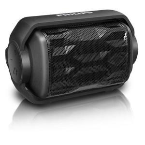 Caixa de Som Portátil Philips BT2200 wireless via Bluetooth Preto - R$95