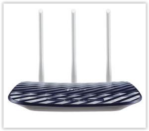Roteador Wireless TP-Link AC750 Archer C20 300Mbps.- 433Mbps por R$ 100