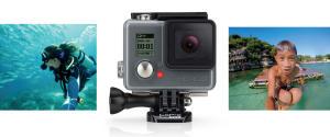 Câmera Digital e Filmadora GoPro Hero Plus CHDHC-101-LA Chumbo - 8MP, Wi-Fi, Bluetooth e Vídeo Full HD - R$699