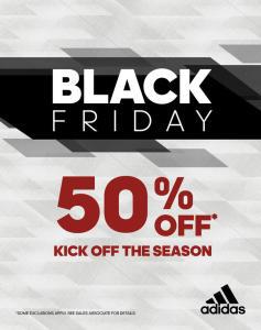 Black Friday Adidas com até 50% de Desconto