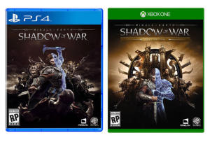 Terra Média Sombras da Guerra - Xbox One e PS4 - R$134,91