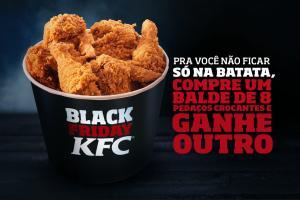 Black Friday KFC: Balde com 8 pedaços 2 por 1