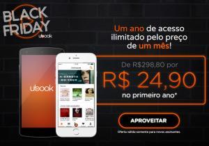 Ubook - Assinatura Anual - R$ 298,80 por R$ 24,90