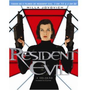 Resident Evil 1 - 5 Blu-ray - R$ 39,90
