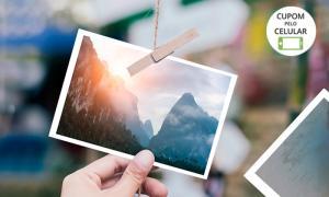 Revelação de 50 fotos 10x15 cm por R$ 2