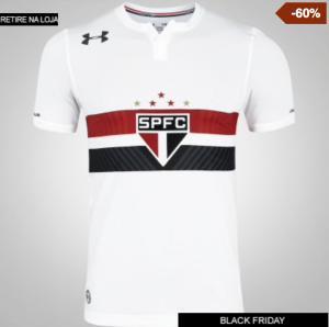 Camisa do São Paulo I 2017 Under Armour - Masculina - R$100,00