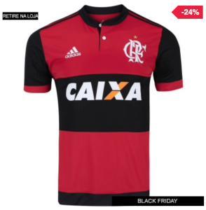 Camisa do Flamengo I 2017 adidas com Patrocínio - Masculina - R$190,00