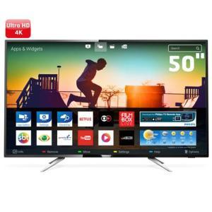 "Smart TV LED 50"" UHD 4K Philips 50PUG6102 - R$2339,00"