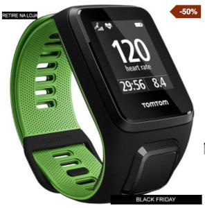 Monitor Cardíaco com GPS Tomtom Runner 3 - R$