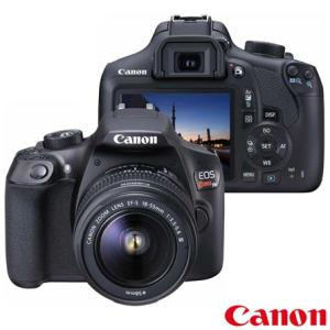 Câmera Digital Canon EOS Rebel T6 DSLR - R$1294
