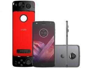 Smartphone Motorola Moto Z2 Play Gamepad Edition XT1710-07 Platinum por R$ 1769