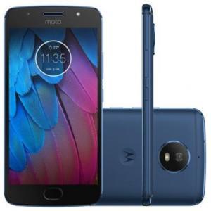 Moto G5S 32GB Dual Chip (Azul Safira) em 10x - R$799
