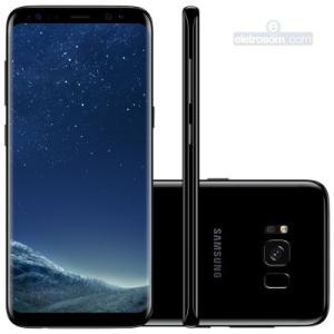 Smartphone Galaxy S8 G950 64GB Dual Chip (Preto) em 10x