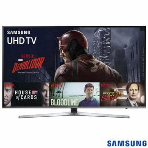 "Smart TV 4K Samsung LED 49"" UN49KU6400GXZD - SGUN49KU6400 - R$ 2599"