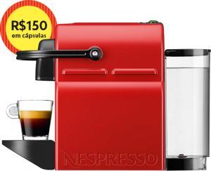Maquina de Cafe Cafeteira Nespresso INISSIA + 150 em Cápsula