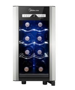 Adega Midea 8 Garrafas Preta 60hz - 110V - R$399,00