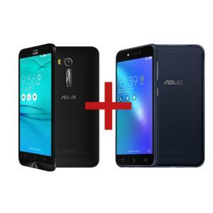 Zenfone Go Live 2GB/32GB Preto + Zenfone Live Preto - R$920