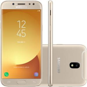 Smartphone Samsung Galaxy J5 Pro, 32GB, 4G, Octa-Core, Dourado - J530G - R$ 849,00