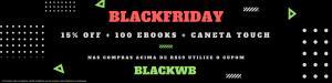 15% OFF + 100 ebooks + caneta touch em compras acima de R$59 na WeBookers