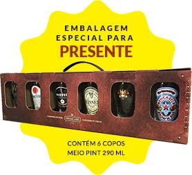 Kit copos volta ao mundo - R$129,90