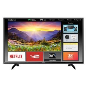"Smart TV LED 40"" Panasonic TC-40ES600B Full HD com Wi-Fi 2 USB 3 HDMI Design Slim e 60Hz R$1.349"