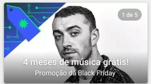 Google Play Musica - 4 meses