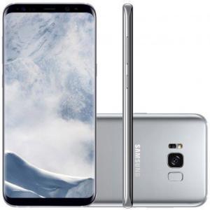Smartphone Samsung Galaxy S8+ SM-G955 64GB Desbloqueado Oi Prata - R$ 2800