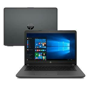 "Notebook HP Core i5-7200U 8GB 1TB Tela 14"" Windows 10 246 G6 - R$ 1899"