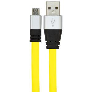 CABO USB DE SILICONE - CARREGADOR PARA CELULAR - MICRO USB
