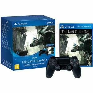 Bundle Controle Sony Dualshock 4 + Jogo The Last Guardian - R$242,90