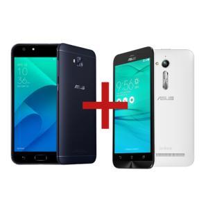 "ZenFone 4 Selfie 3GB/32GB Preto + Zenfone Go Live BrancoTela:5,5"" HD IPSCâmera:16 MP / Dual: 20MP + 8MPMemória:32 GB / 3 GBConectividade:4G - R$1241,00"