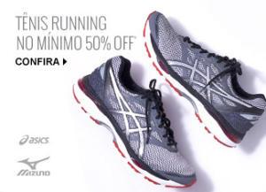 Tênis Performance #Nike, #Mizuno, #Adidas e #Asics  por ------- R$ 129,99