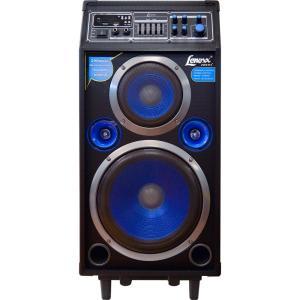 Caixa Amplificadora Multiuso Lenoxx CA 316 200W Karaokê USB Sistema Microfone Sem Fio - R$ 672