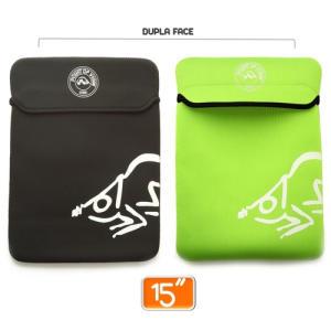 Capa De Neoprene Protetora Para Notebook, Netbook E Ipad 11,00
