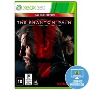 Jogo Metal Gear Solid V: The Phantom Pain para Xbox 360 (X360) - Konami De: R$ 49,90 por R$ 29,90 em até 1x de R$ 29,90 sem juros