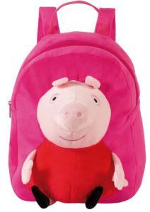 Mochila De Costas Peppa Pig Pelúcia - R$59,90