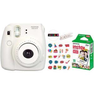 Câmera Instantânea Fujifilm Kit Festa Instax Mini 8 - Branca - R$ 328