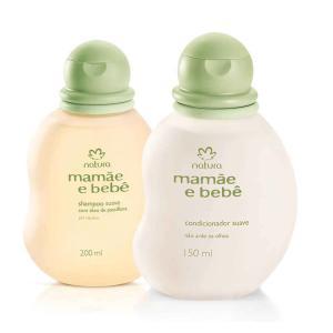 Kit Mamãe e Bebê - Shampoo Suave 200ml + Condicionador Suave 150ml R$ 32,27