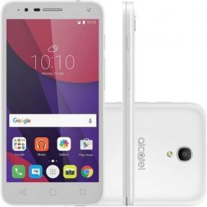 "Smartphone Alcatel Pop 4 5"" OT5051J Desbloqueado Branco  279,90 no boleto"