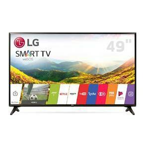 "Smart TV LED 49"" Full HD LG 49LJ5550 com Painel IPS, Wi-Fi, WebOS 3.5, Time Machine Ready, Magic Zoom, Quick Access, HDMI e USB"