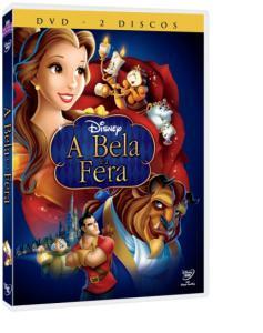 A Bela e a Fera - 2 DVDs - R$10